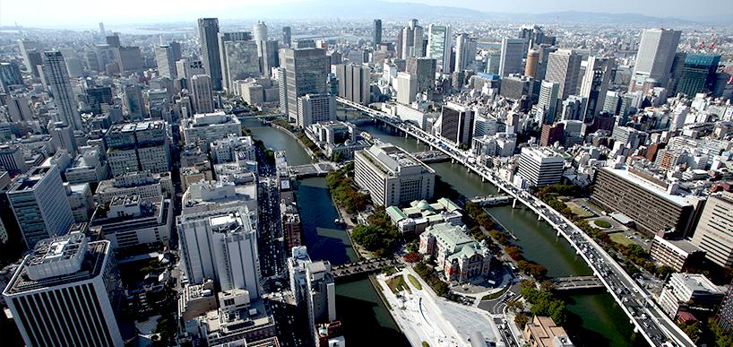 大阪上空 大阪フィルム・カウンシル | 大阪での撮影をサポートいたします 映像制作者の方へ 撮影